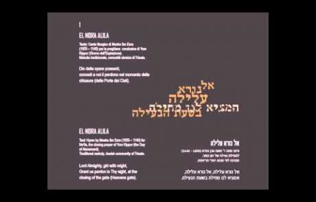 Jazz/Classical/Folk Version of Sephardic El Nora Alila Piyut